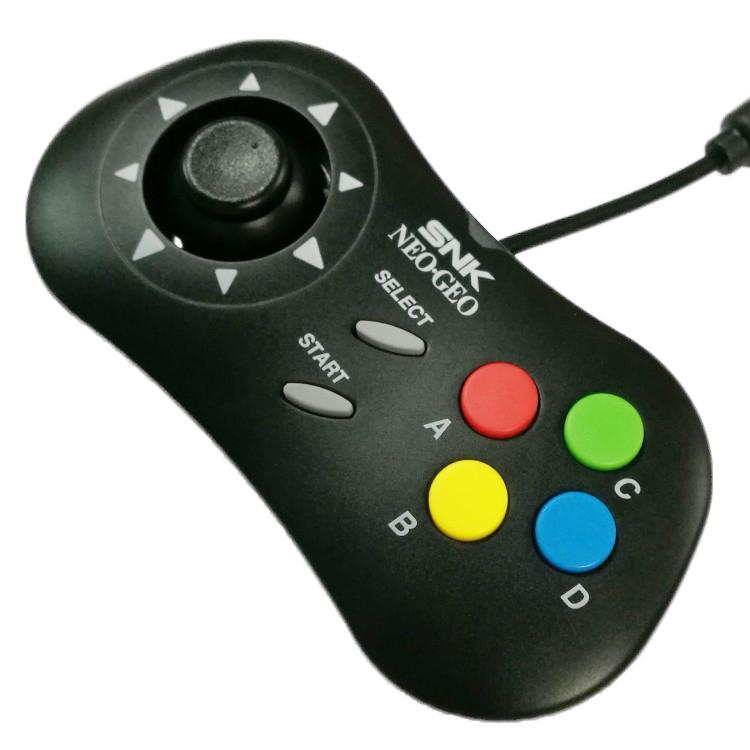 2019 Retro ARCADE Mini PAD controller Video Gamepad joystick ABCD buttons  pad controller for SNK for neogeo mini