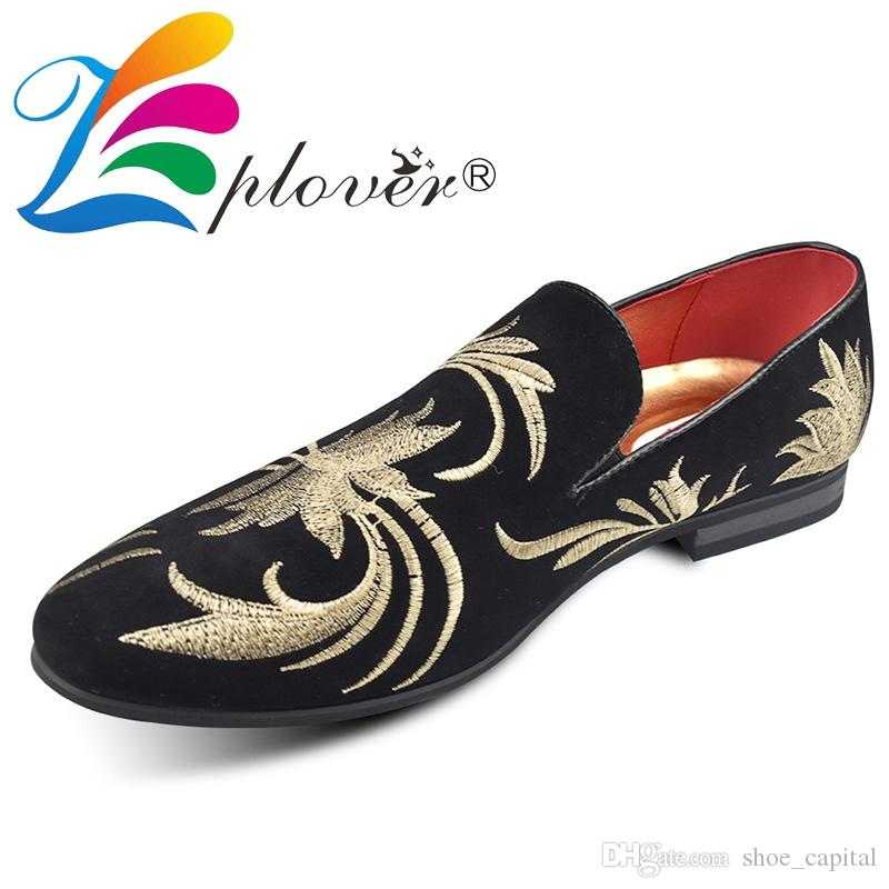 663fd507df1 2018 Men Shoes Luxury Brand Tiger Print Men Loafers Italian Dress Shoes  Casual Flat Velvet For Party Driving  98554 White Shoes Wedges Shoes From  ...