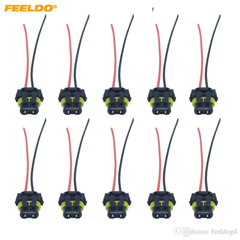 2019 car hid led bulb headlight plug cable 9005 car light cord connector  wire harness power cable #5970 from feeldogd, $13 52 | dhgate com