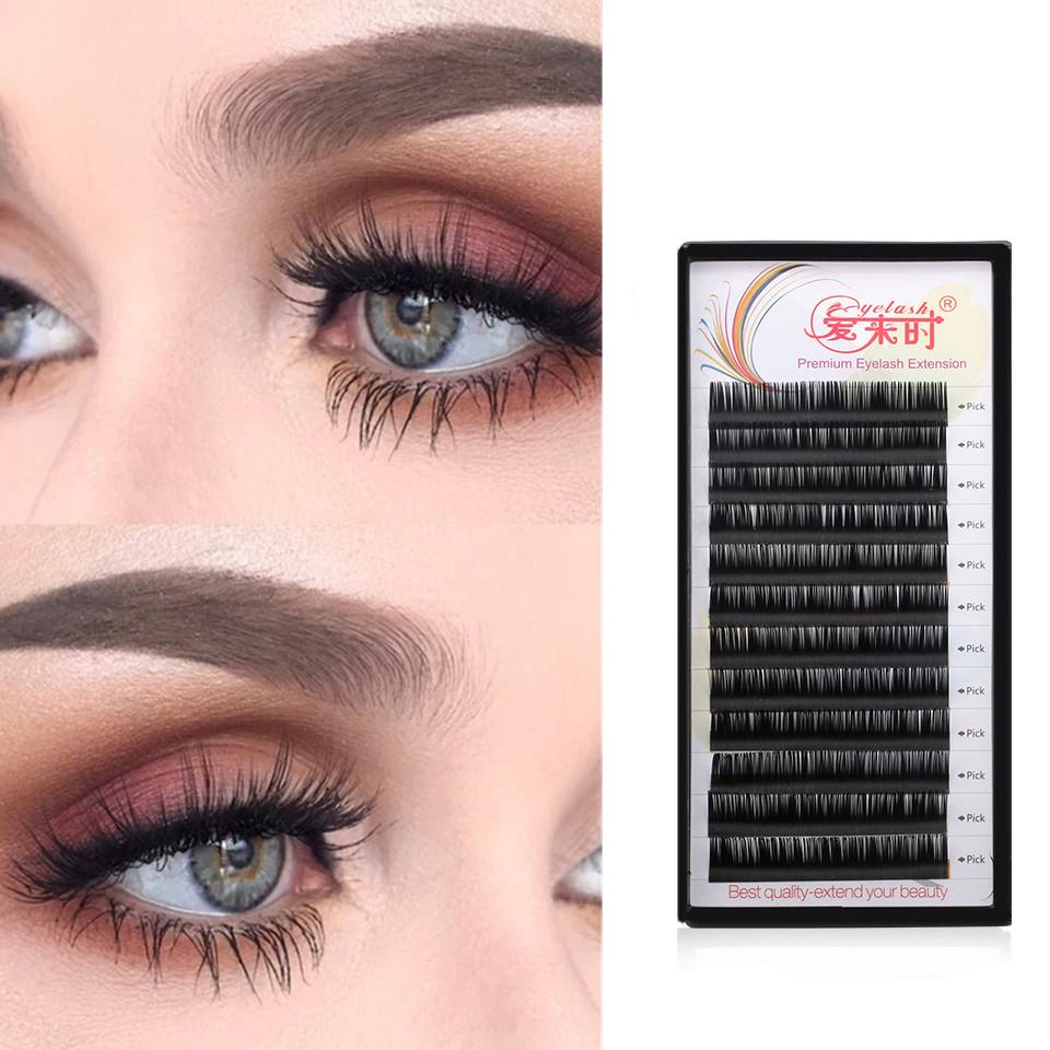 312a8a34ea8 NEWCOME Eyelash Extension 0.03 0.25mm Thickness Individual Eyelash  Extension 100%Handmade Eyelashes For Makeup How To Put On False Eyelashes  Permanent ...
