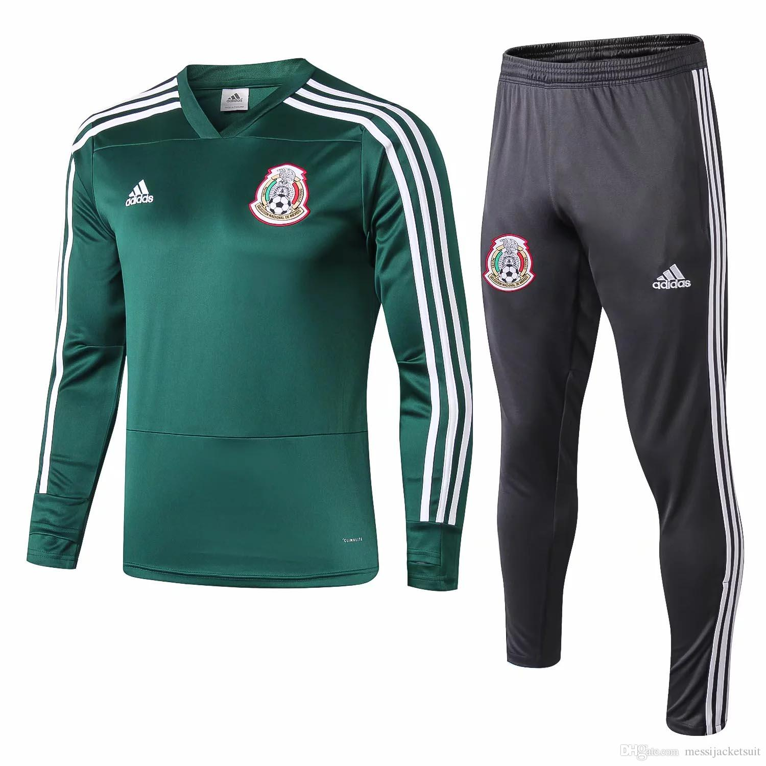 2018 19 World Cup new Mexico football training suit Hernandez soccer jerseys Max Soccer Jersey suit team uniform jersey custom