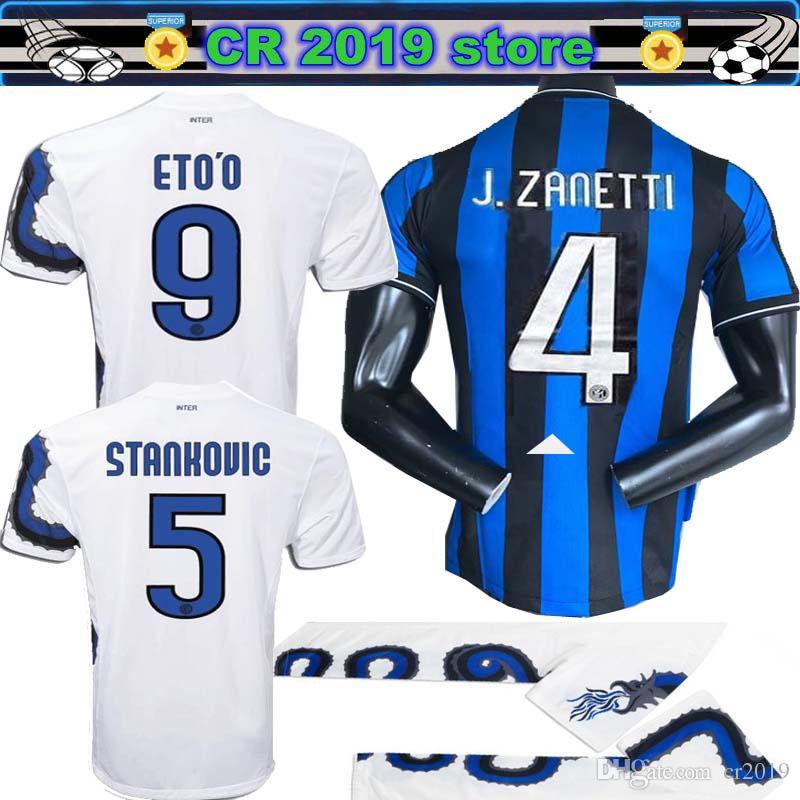 outlet store ca895 56592 2010 11 Inter Pirlo jersey finals 2009 2010 MILITO SNEIJDER J.ZANETTI  Soccer jersey LUCIO Football MILAN 98 99 Djorkaeff Baggio RONALDO