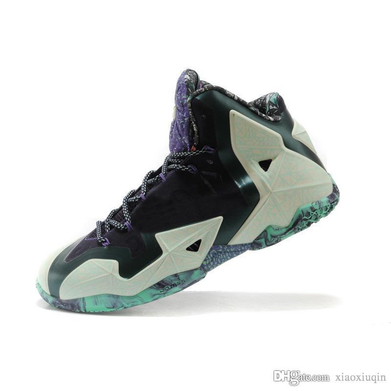 18764fa95c5a 2019 Cheap Mens What The Lebron 11 Basketball Shoes For Sale Easter ...