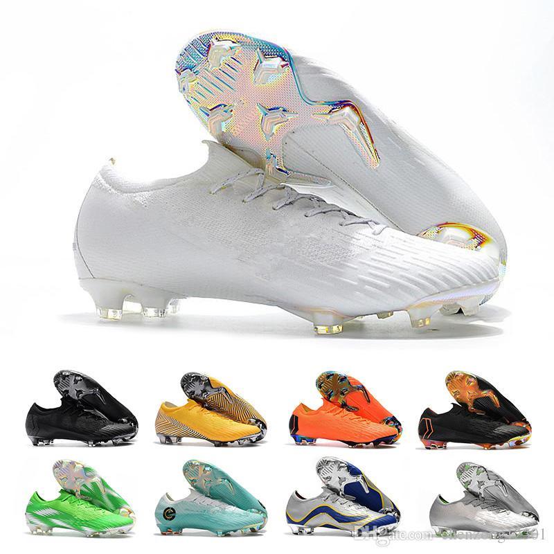 Compre 2018 Mercurial Superfly CR7 Chuteiras Botas De Futebol FG Futebol  Sapatos De Alta Qualidade Dos Homens De Futebol Ao Ar Livre Tamanho 39 46  De ... 9deb5d07c5b03