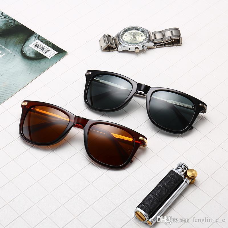 098fb5ef2 Compre New R B 4637 Tipos De Óculos De Sol De Vidro Europeus E Americanos  Moda Tendências Dos Homens Pequeno Quadro Colorido Óculos De Sol De  Fenglin_c_c, ...