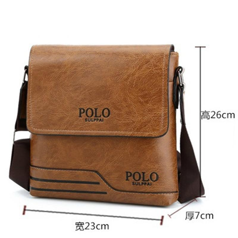 d436a3f8b9d4 SULPPAIPOLO Famous Brand Leather Men s Bag Leisure Business Leather ...