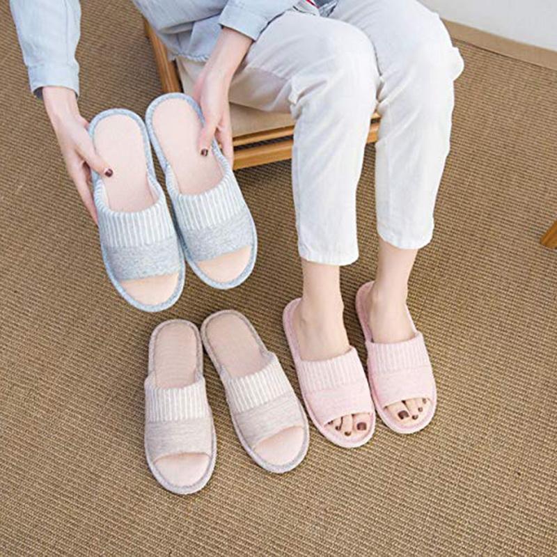 Acquista Pantofole Da Bagno In Cotone A Righe Caldo E Antiscivolo. Pantofole  Da Uomo In Cotone A Righe A  39.99 Dal Dealbag  0c667a10045