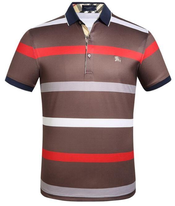 31f0eb57598 Men S Plain Cotton Printed Short Sleeved Size M 3XL T Shirt Summer Lapel Shirt  Men S Popular Logo Large Size High End Products Retro Shirts Awesome Shirts  ...