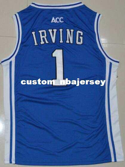 2019 Cheap Custom Kyrie Irving DUKE  1 Jersey Stitched Customize Any Number  Name MEN WOMEN YOUTH XS 5XL From Custom nbajersey e3148f88a