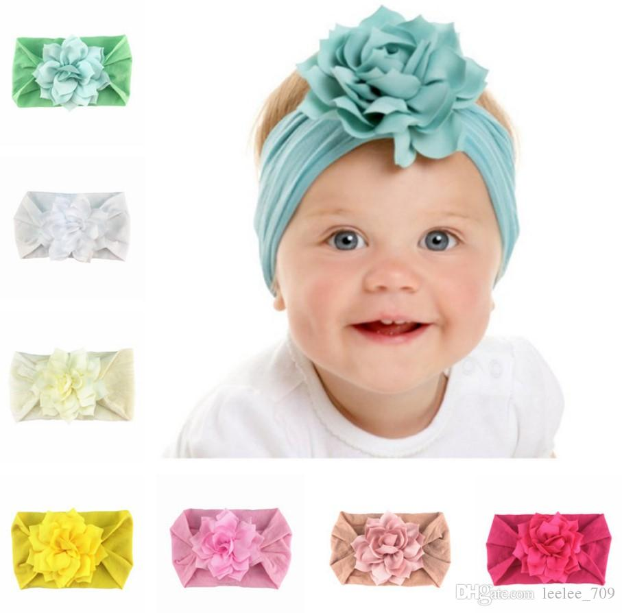 stirnband mädchen haarband bowknot turban neugeborenes baby haarband nylon