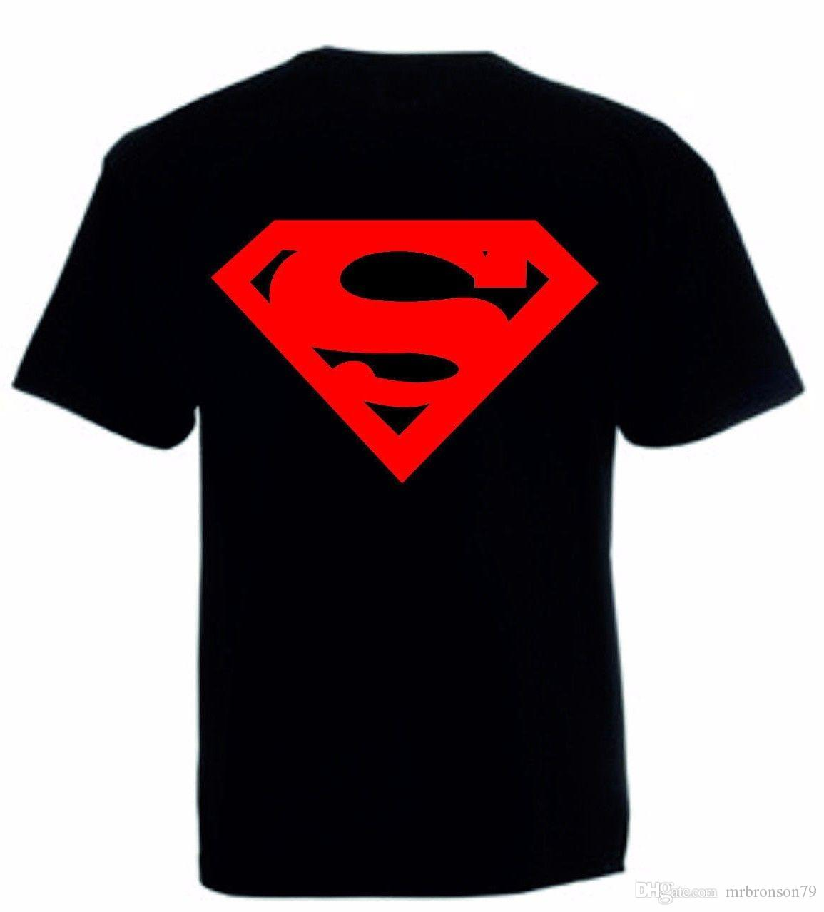 7963dd5a3 Top Tee T Shirt Or Vest Super Hero Tank Top DC Tee Kids & Adults Sizes T  Shirts Funky Tee Shirt For Sale From Mrbronson79, $10.86| DHgate.Com
