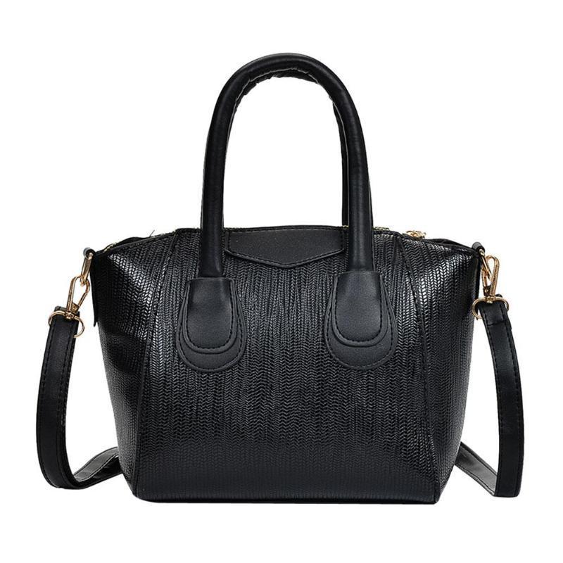 b3364deae93c8 Women Handbags PU Leather Famous Brand Top Handle Messenger Bag Female  Handbag Fashion Crossbody Shoulder Bag Women Handbag Tote Black Handbag  Fashion Bags ...