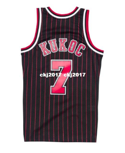 168e117034e5 2019 NCAA Cheap TONI KUKOC  7 Pinstripe HARDWOOD CLASSIC Throwbacks Jersey  Retro Mens XS 6XL Stitched Basketball Jerseys From Ckj2017