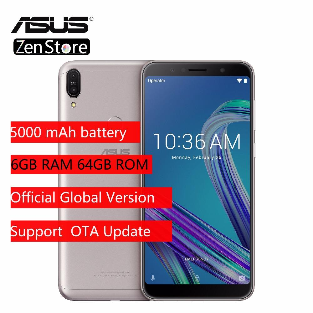 2018 ASUS ZenFone Max Pro M1 ZB602KL X00TD, Snapdragon 636, Mobile Phone,  6GB 64GB, 6inch, 4G LTE Smartphone