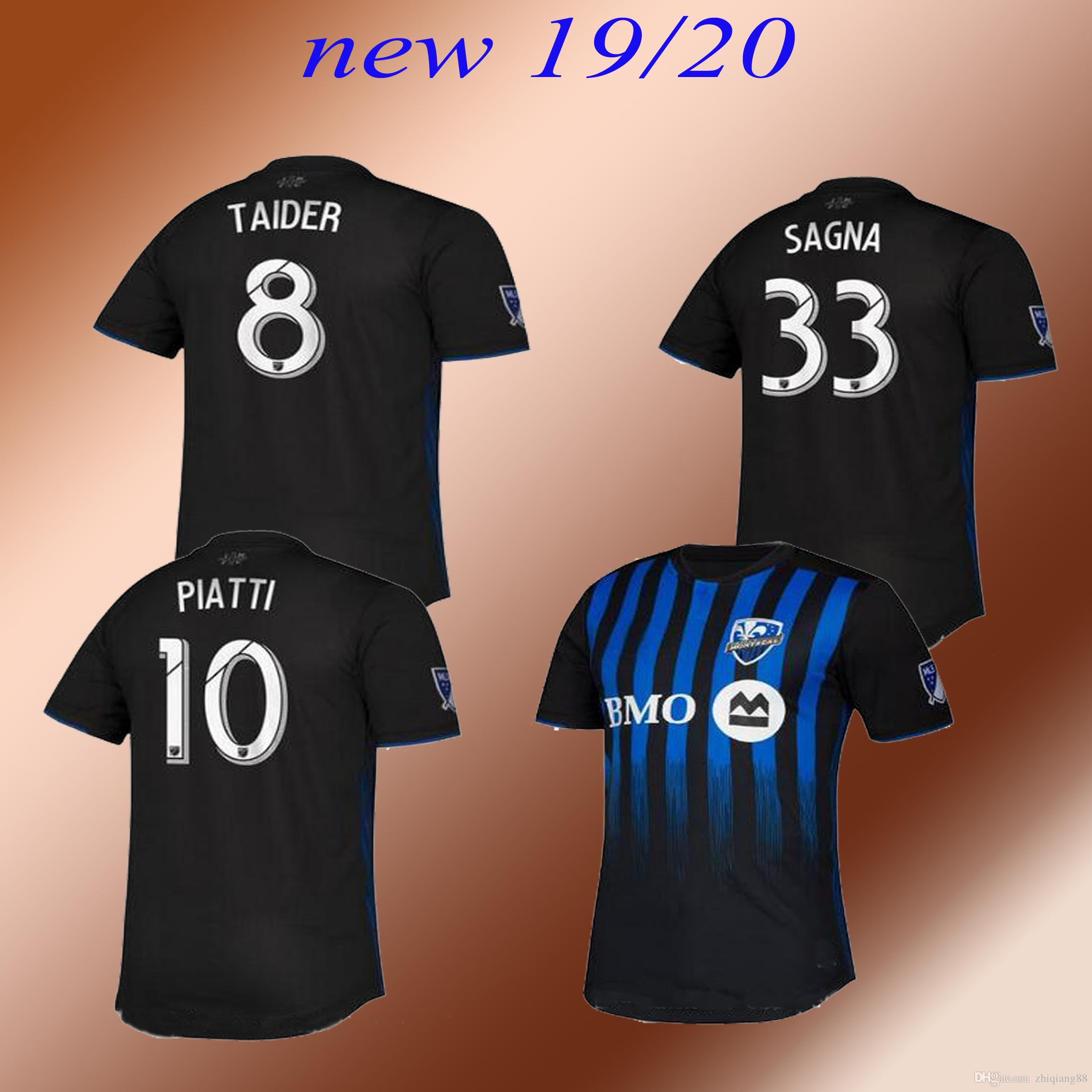 uk availability a6c85 323f7 2019 Montreal Impact home soccer jersey 19 20 montreal jerseys Piette  Taider Piatti Sagna Urruti football shirt