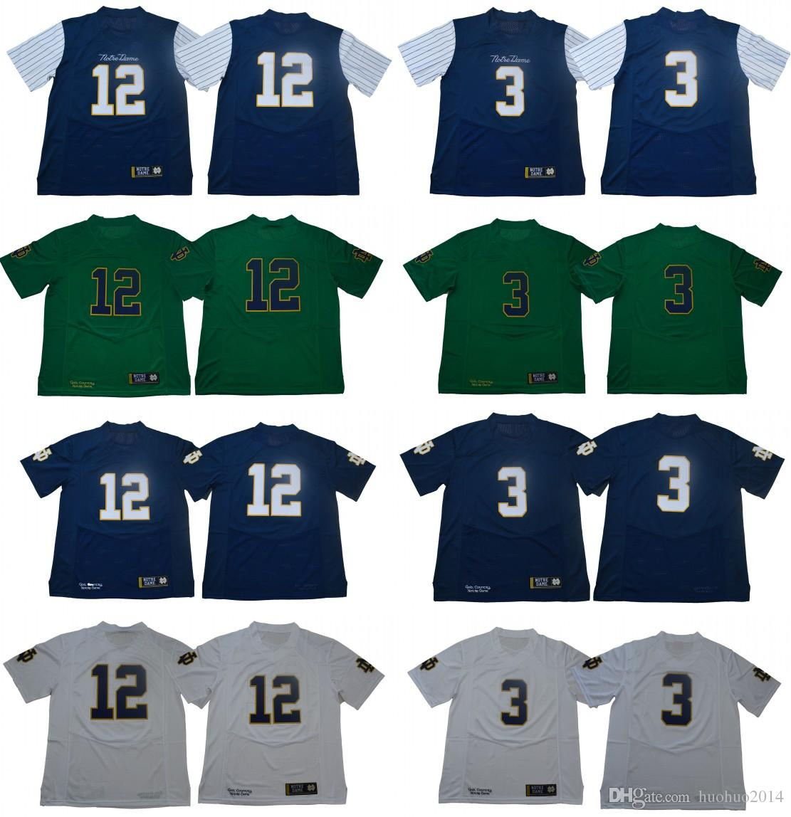 huge discount 2746f 1b014 where can i buy notre dame fighting irish 3 joe montana ...