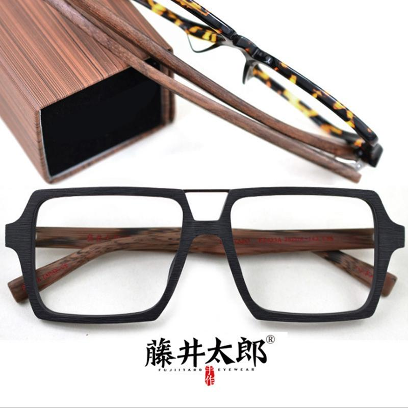 97faebc96df 2019 TARO FUJII Spectacle Frame Eyeglasses Men Women Retro Acetate Computer  Optical Clear Lens Eye Glasses Frame Male Female FT455A From Value333
