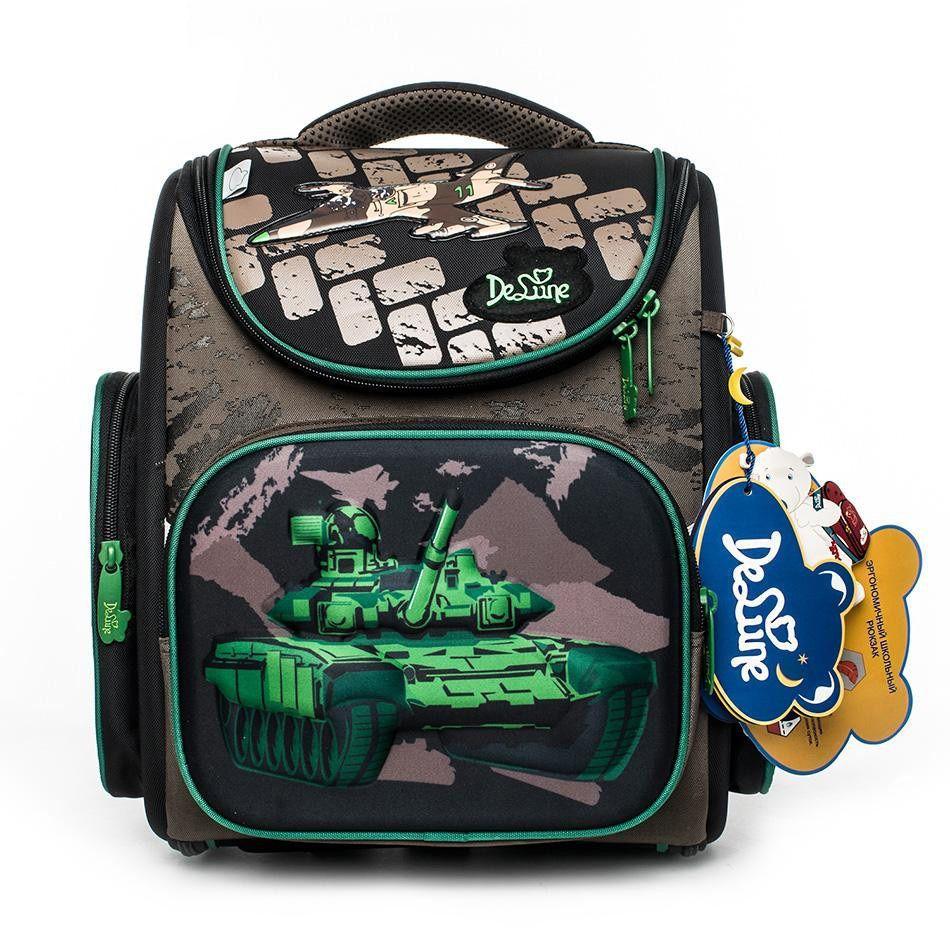 e4d5c56cc133 2019 Delune Brand Kids Boys New School Bag 3d Tank Design Waterproof  Orthopedic Backpack Book Schoolbag Mochila Infantil Escolar Girls Backpacks  For School ...