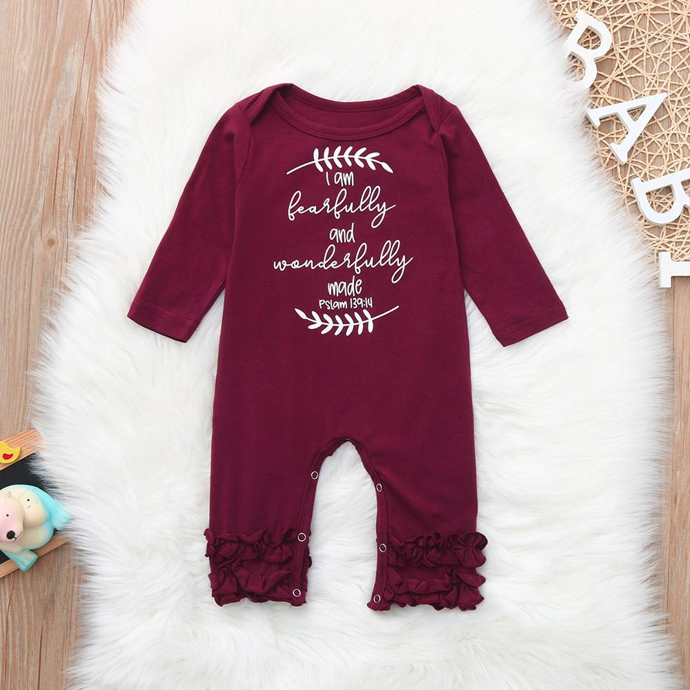 841a62a68827 2019 2018 Hot Sale Christmas Sets Cute Newborn Baby Girl Clothes ...