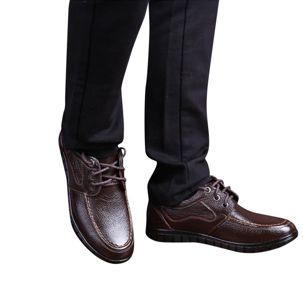 9cf625994d9 Men's Fashion Summer British Business Casual Comfortable Dress Shoes Sweat  soft luxury Absorbant Leather shoes for Work Apr 15
