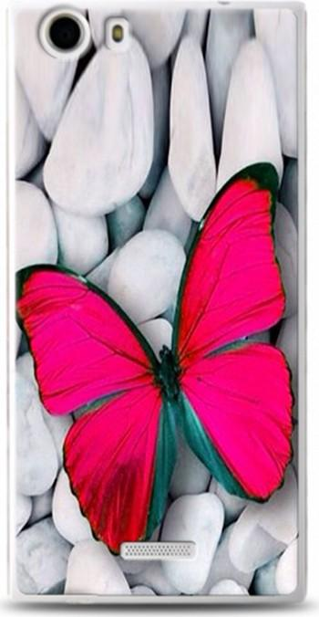 Casper Via Dynamics M1 Case Pink Butterfly Pattern Leather Case Ship from Turkey HB-000836562