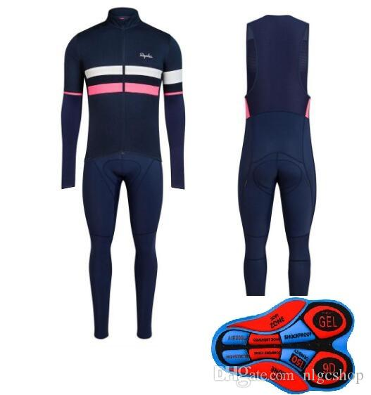 2019 Autumn Rapha Brevet Long Sleeve Cycling Jersey Set Mountain Bike  Clothing Bicycle Clothes Wear Ropa Maillot Ciclismo L304524 Jersey Cycling  Bike Short ... d5ad874c1