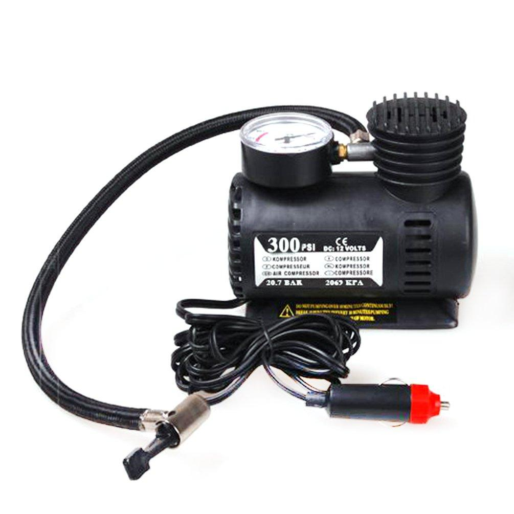 Portable Car Accessories Automotive Durable Vehicle Mini Air Compressor 300 PSI Tire Inflator Pump 12V Car Parts