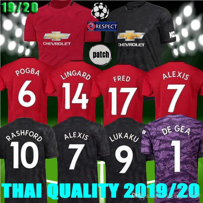 f0251f9f5cb 2019 New Manchester 2019 2020 Men Women United Soccer Jersey 18 19 20  LUKAKU MARTIAL POGBA RASHFORD Goalkeeper Jerseys Utd ALEXIS Football Shirt  From ...