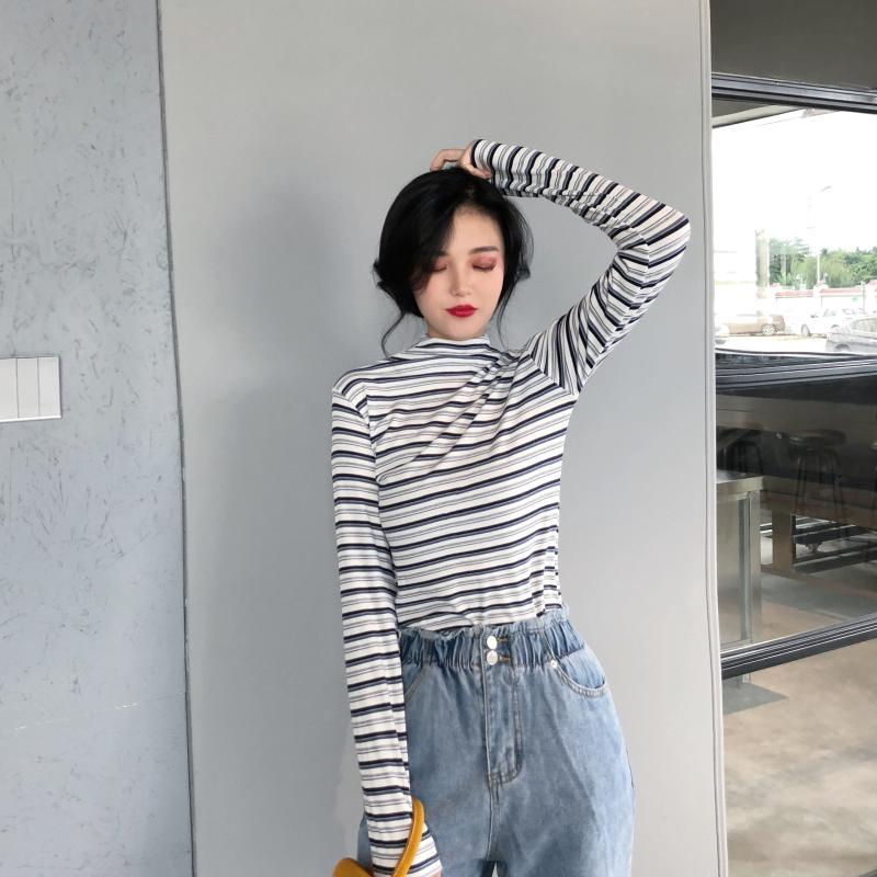 d9c1b9a95bf Women s Sweaters 2019 New Arrival Autumn And Winter Womens Striped ...