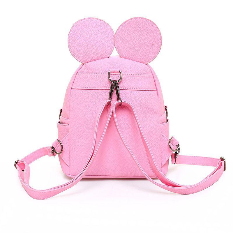 Zaini Zaino in pelle Donne Teenage Girls School casual Travel Bag Carino stoccaggio organizzazione bag