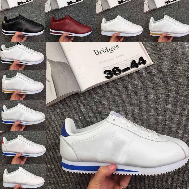 New Classic Cortez Basic Leather Casual Shoes Cheap Fashion Men ... 78c0aa3ec