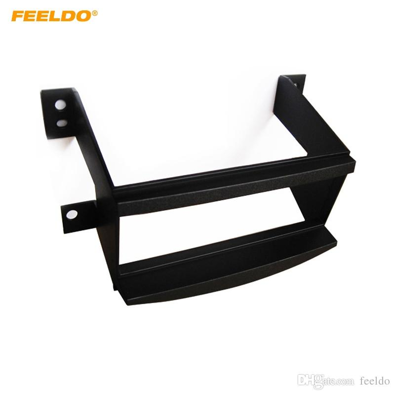 FEELDO Car 1-Din Stereo Radio Dash Panel Fascia Frame Adapter For Toyota Avalon 05-09 Face Plate Refitting Trim Kit #4893