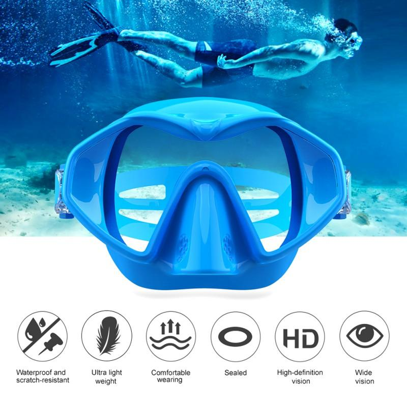 2fa71d7d212 2019 Anti Fog UV With Case Women Men Swimming Mask Comfortable Silicone  Large Frame Swimming Glasses Goggles Waterproof From Yerunku