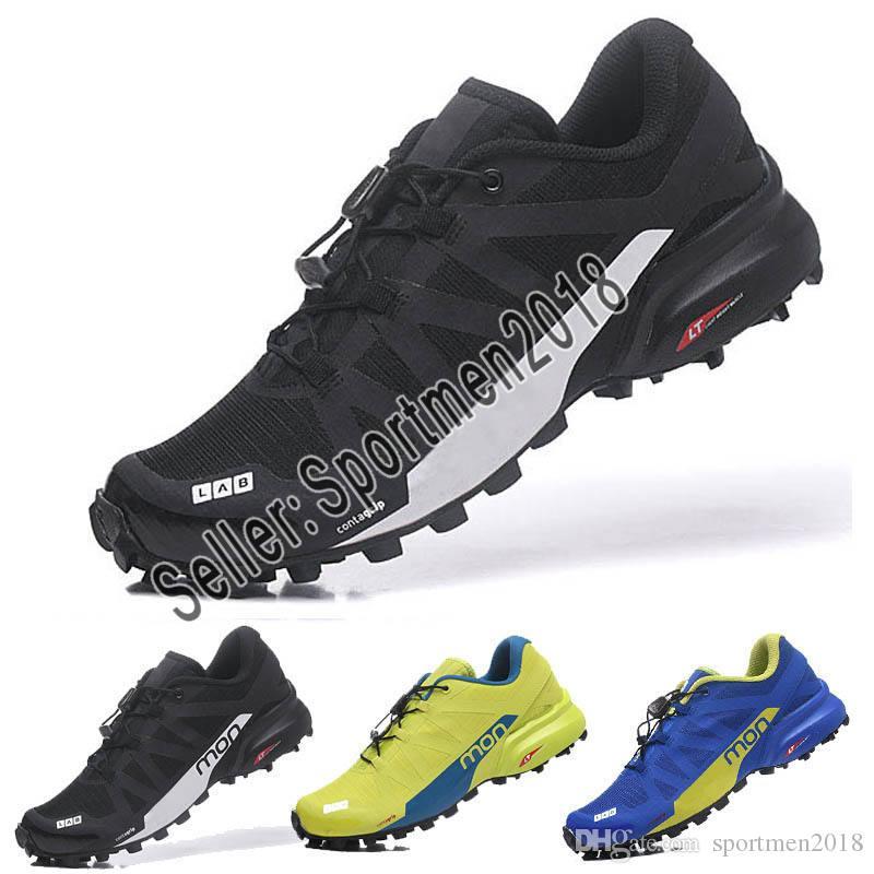 design intemporel 4683a 72409 Designer shoes Salomon men women Speedcross 5 CS Trail Chaussures Casual  Baskets Légères Marine Salomon V Zapatos Imperméable Femme Athlétique ...