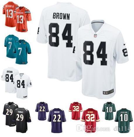 new styles 97ca0 b0b10 Antonio Brown jersey Nick Foles Odell Beckham Jr DeSean Jackson Mark Ingram  Earl Thomas Tyrann Mathieu american football jerseys Pro Bowl