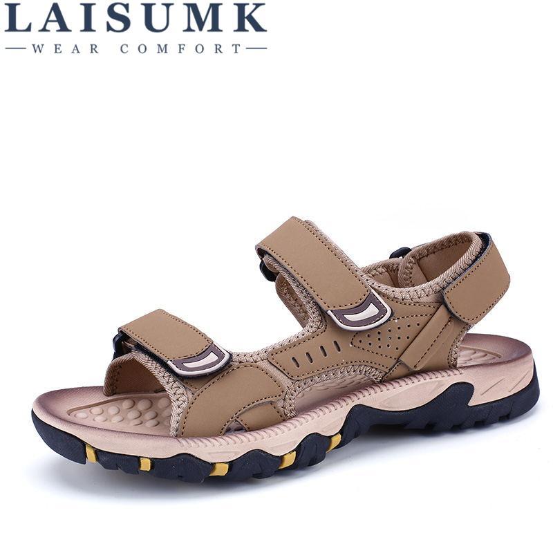 Acheter Sandales Zapatos Pantoufles Cuir Laisumk Hommes En Haute hstQrd
