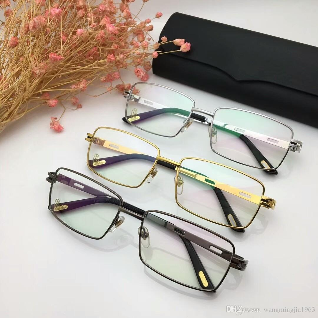 5003fad79adc 2019 8200811 Eyeglasses Frame Women Men Brand Designer Eyeglass Frames  Designer Brand Eyeglasses Frame Clear Lens Glasses Frame Oculos With Case  From ...