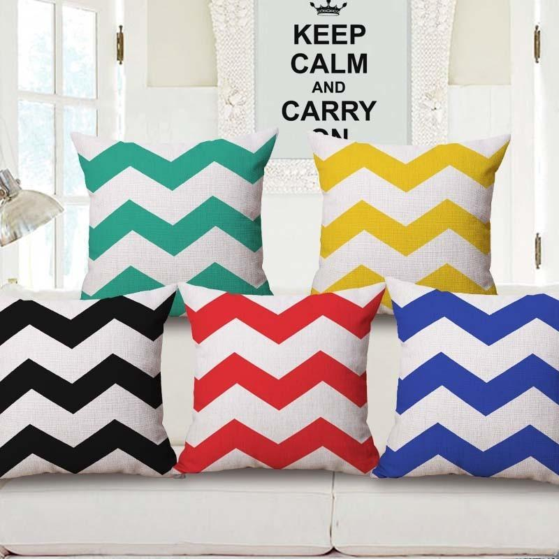 Will Wave Pillow Colour Wave Cushion Set Come Picture Customize Back Cushion