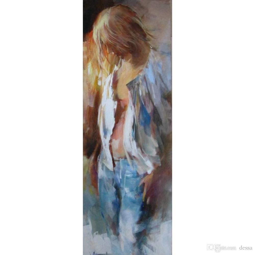 Willem Haenraets paintings Girl hand painted figure painting canvas art High quality