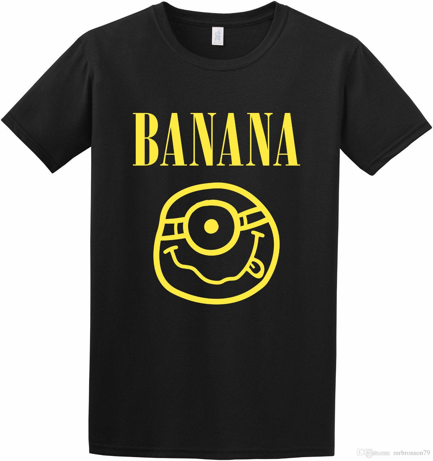 1b965ef62b Banana Funny Top Tee New Designer Parody Kids Adult Inspired T Shirt ...