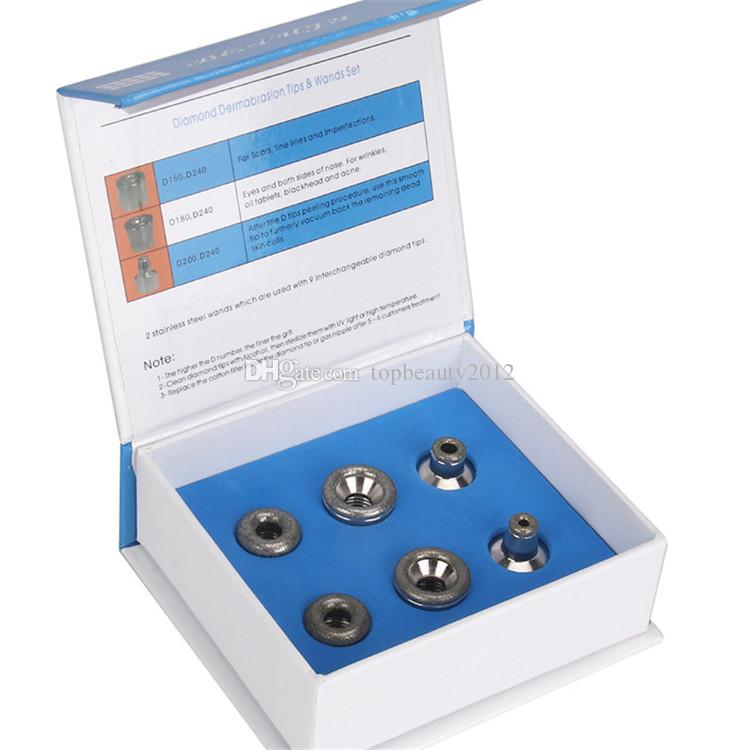 Substituição Microdermarasbion Dicas serve para todos os Microdermabrasion Beleza Ferramenta Dermoabrasão Diamond Peeling Machine Skin Care Device Use