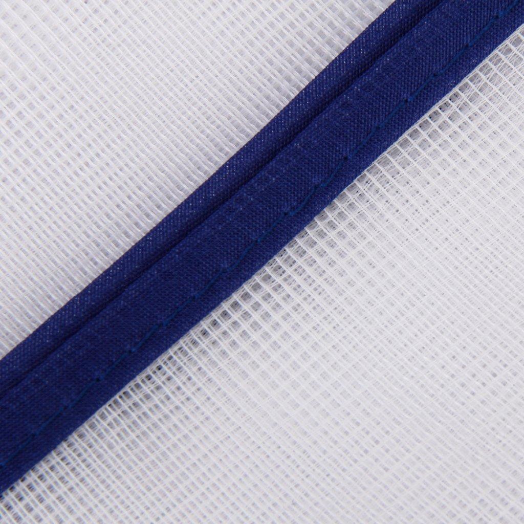 شبكة واقية من الكي القماش 40 × 90 سم أبيض