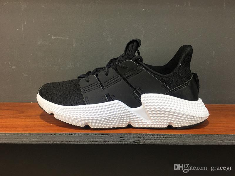 detailed look 46e3c 2f4ed 2019 New Designer Prophere EQT Climacool Men Running Shoes Triple Black  white Blue Trace Olive Women Sports shoes fashion outdoor Sneaker