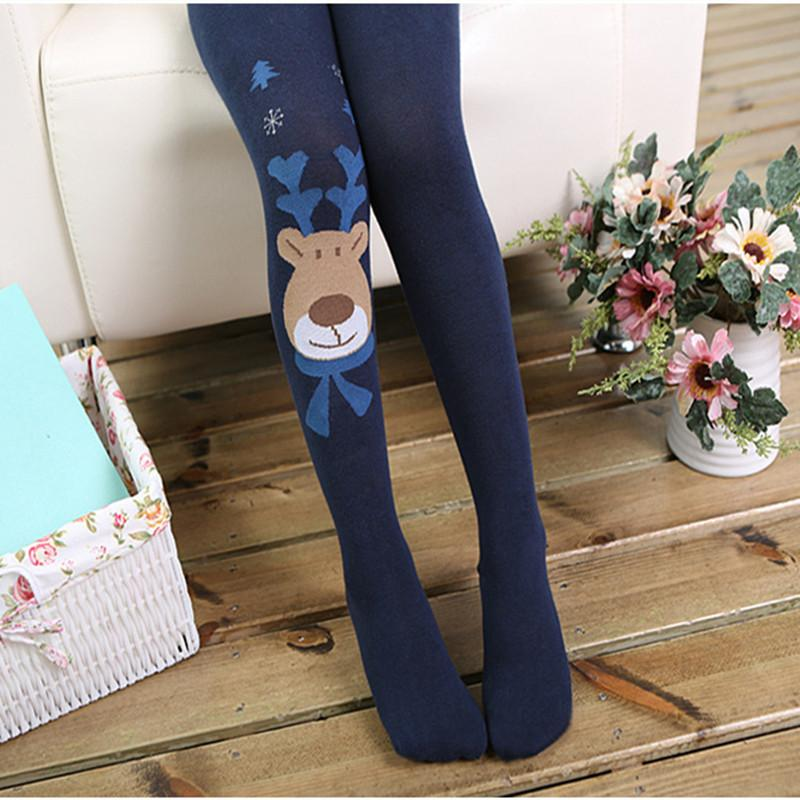 Spring Autumn Cartoon Girl Leggings Kids Pantyhose Cotton Children Wears Girl Stockings Rompers Trousers Infant Clothing 3-10Y