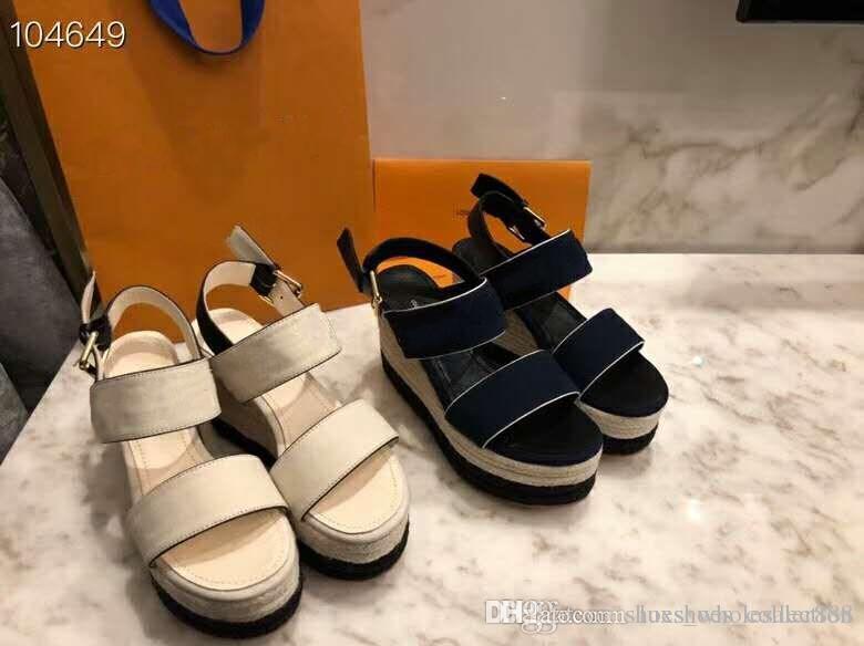 Die neuesten Laufsteg Plateau Sandalen, Damen Sandalen mit hohem Absatz, Street Style Mode Sandalen, Größe 35 41, Absatzhöhe 10 cm
