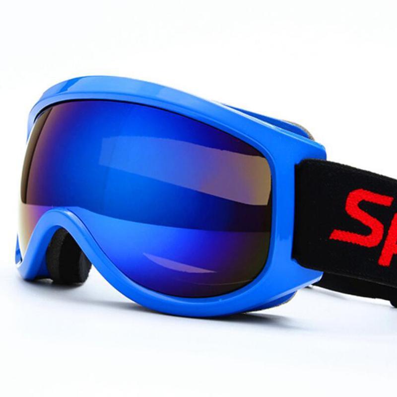 Acheter Enfants Lunettes De Ski Hommes Femmes Enfants UV400 Sport Lunettes  De Protection Lunettes De Motoneige Lunettes De Soleil Lunettes Pour  L hiver ... 6e1658350e8e