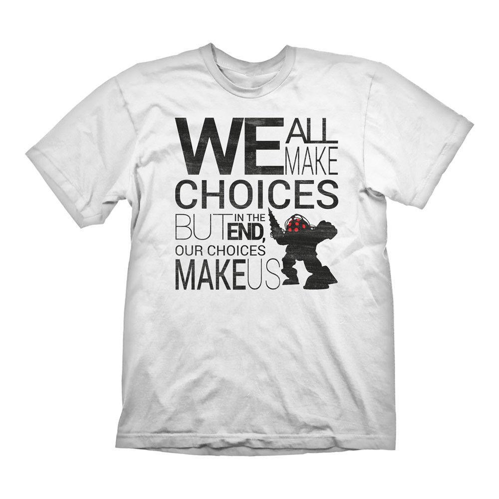 28917e542668f BIOSHOCK Men S Quote Vintage T Shirt