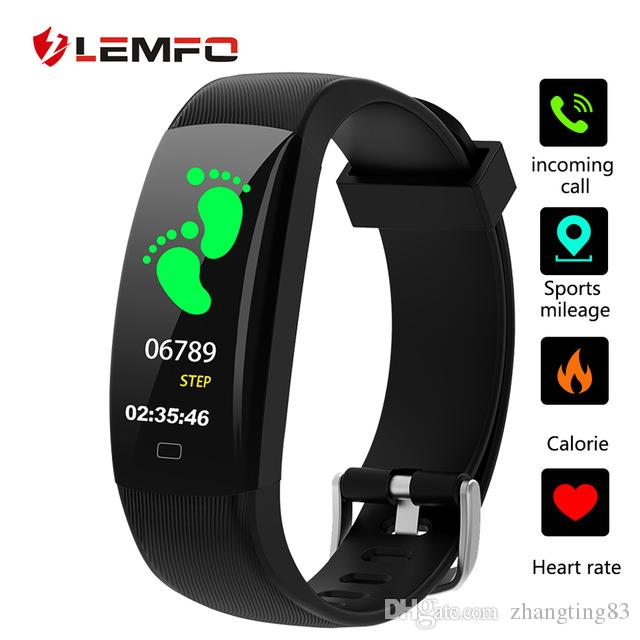 8385155032cd Pulseras Fit LEMFO Fitness Pulsera F64C Fitness Tracker Podómetro Suppport  Bluetooth Monitor De Ritmo Cardíaco IP 68 Pulsera Inteligente A Prueba De  Agua ...