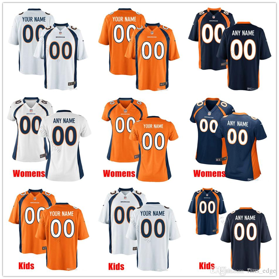 c89f338498e 2019 Custom New Denver 30 Phillip Lindsay 5 Joe Flacco 58 Von Miller 18  Peyton Manning 55 Bradley Chubb Men Women Youth Broncos Stitched Jerseys  From ...