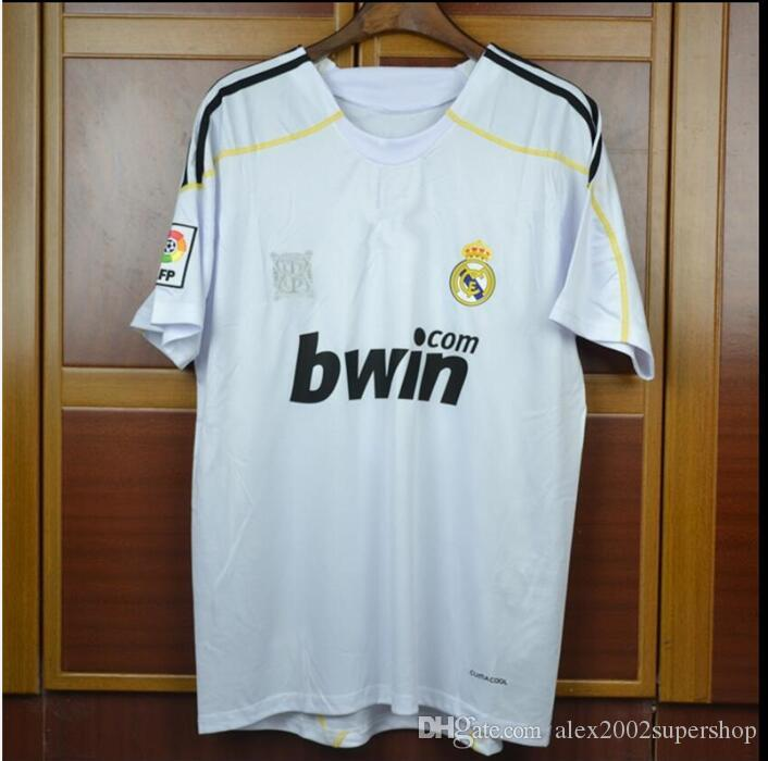 6df797085b1 2019 09 10 Real Madrid Ronaldo Retro Jerseys Sergio Ramos V.Nistelrooy Kaka  Guti.HAZ 2009 2010 Jersey From Alex2002supershop